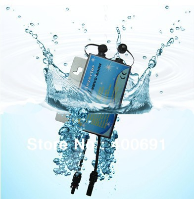 WATERPROOF IP 65!!! Grid Tie 300W Micro Inverter with MPPT Function, communication function, 22-45VDC, 90-160VAC or 190-260VAC.(China (Mainland))