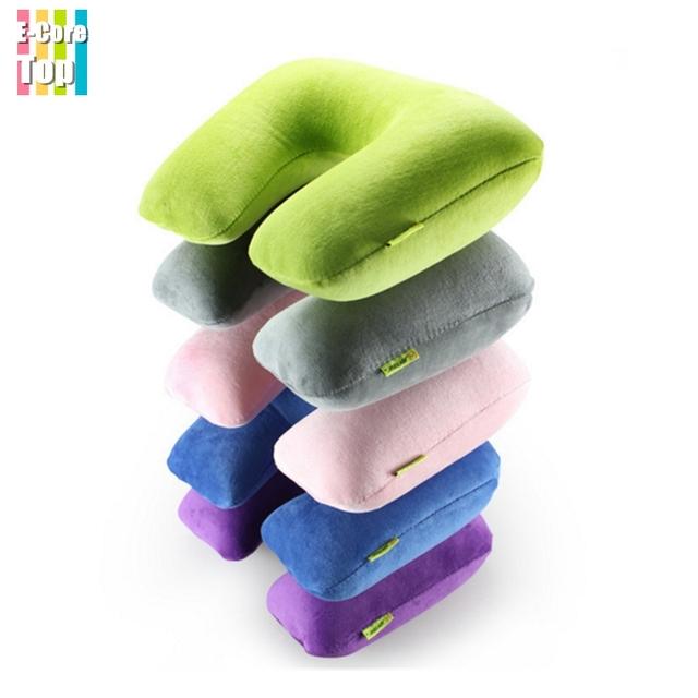 Путешествия надувные подушки для шеи рук протектор воздушной подушке взорвать складной ...