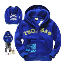 2014 New Baby boys hooded jacket children cartoon sweater kids casuall sport coat toddler outerwear(China (Mainland))