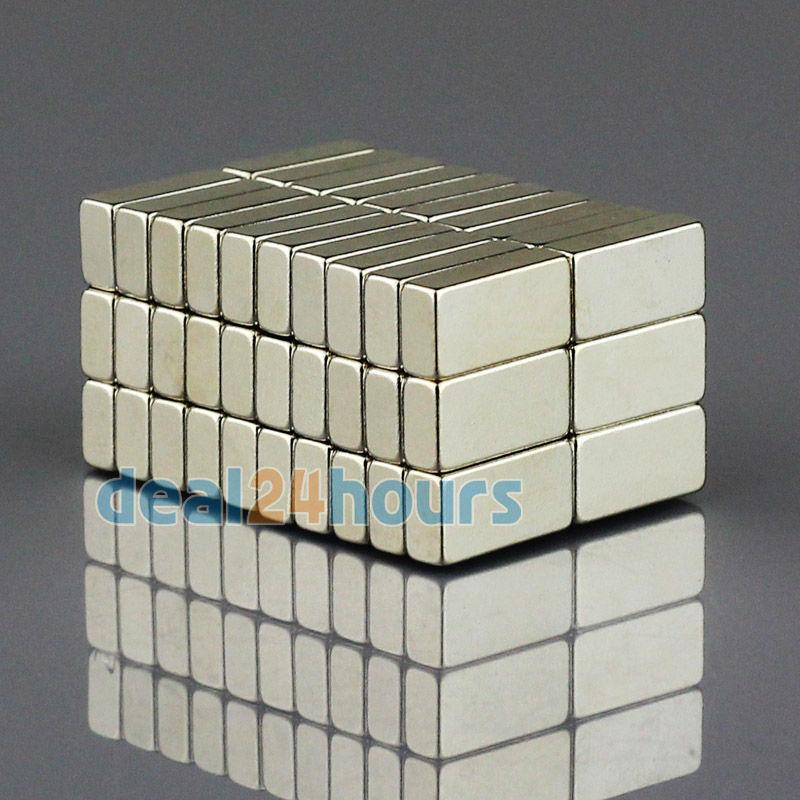 Гаджет  100pcs/lot Super Strong Block Cuboid Magnets Rare Earth Neodymium 10mm x 5mm x 3mm N35 Free Shipping None Строительство и Недвижимость