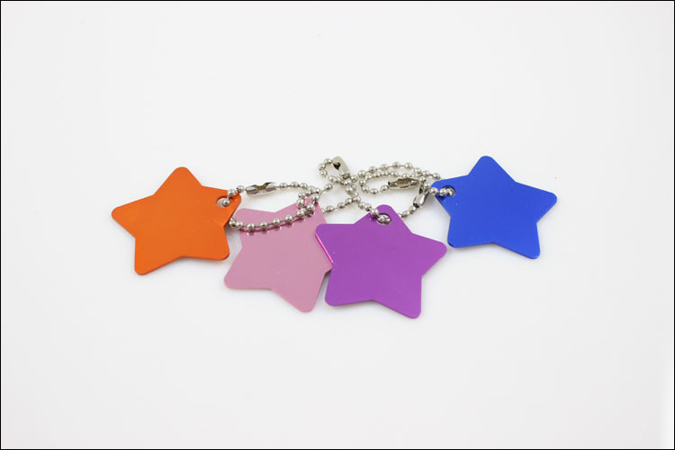 10 Pcs Cute Star Custom Personalized Pet Dog Name ID Tag Pet Tags -Free shipping(China (Mainland))