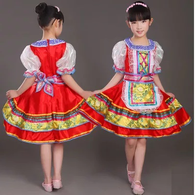 Dresses for kids in chinese folk dance from novelty amp special use on