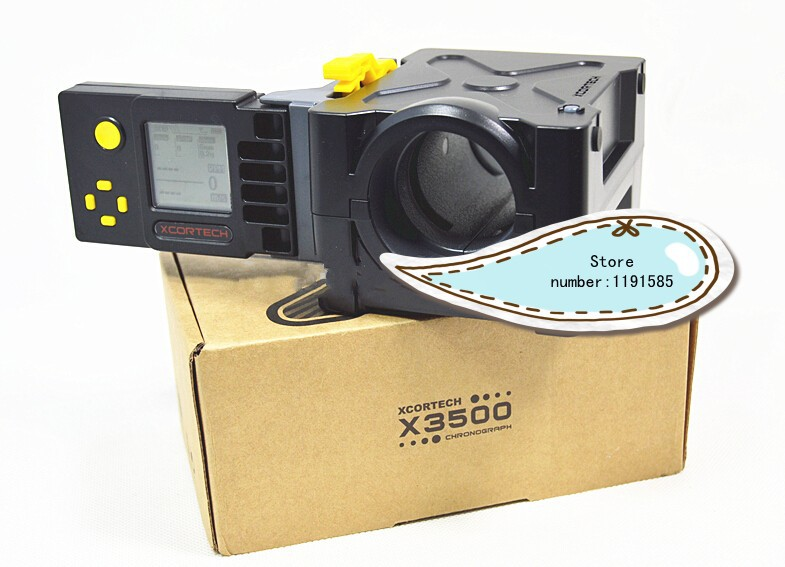 USB X3500 High-Power Xcortech Shooting Chronograph Wireless Comunication For Both Unit Folding Speed Tester(China (Mainland))