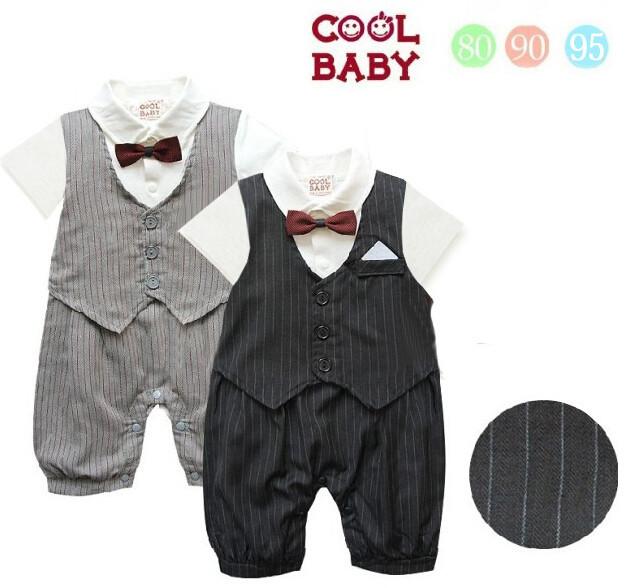 Mode formeel nieuwe geboren baby boy kleding baby baby polo smoking pakken in mode formeel - Baby boy versiering van de zaal ...