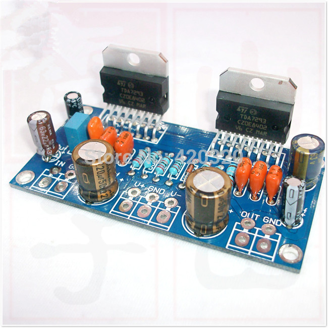 +/-40V DC TDA7293 kit Parallel mono power amplifier board HiFi Board kit Electronic kit combination Amplifier DIY(China (Mainland))