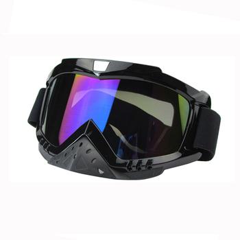 Новые подлинной бренд лыжные очки анти-туман большие сферические профессиональные лыжные очки унисекс-многоцветной снег очки 635A