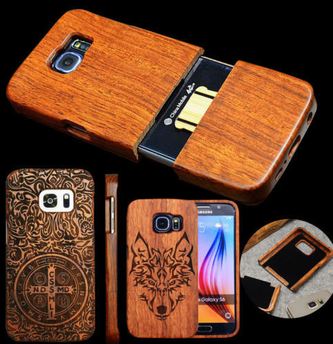 Genuine Wood Bamboo S8 Skins Nature 3D Carving Wooden Hard Cover Case For Samsung S8 Cover Shell+free gift(China (Mainland))