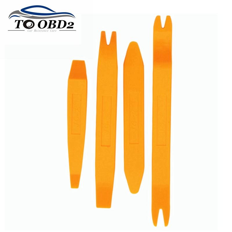Lowest Factory Price 4pcs/Set Car Repair Tools DVR Player Stereo Refit Auto Dash Tool Repair Stereo Refit Kit Free Shipping(China (Mainland))