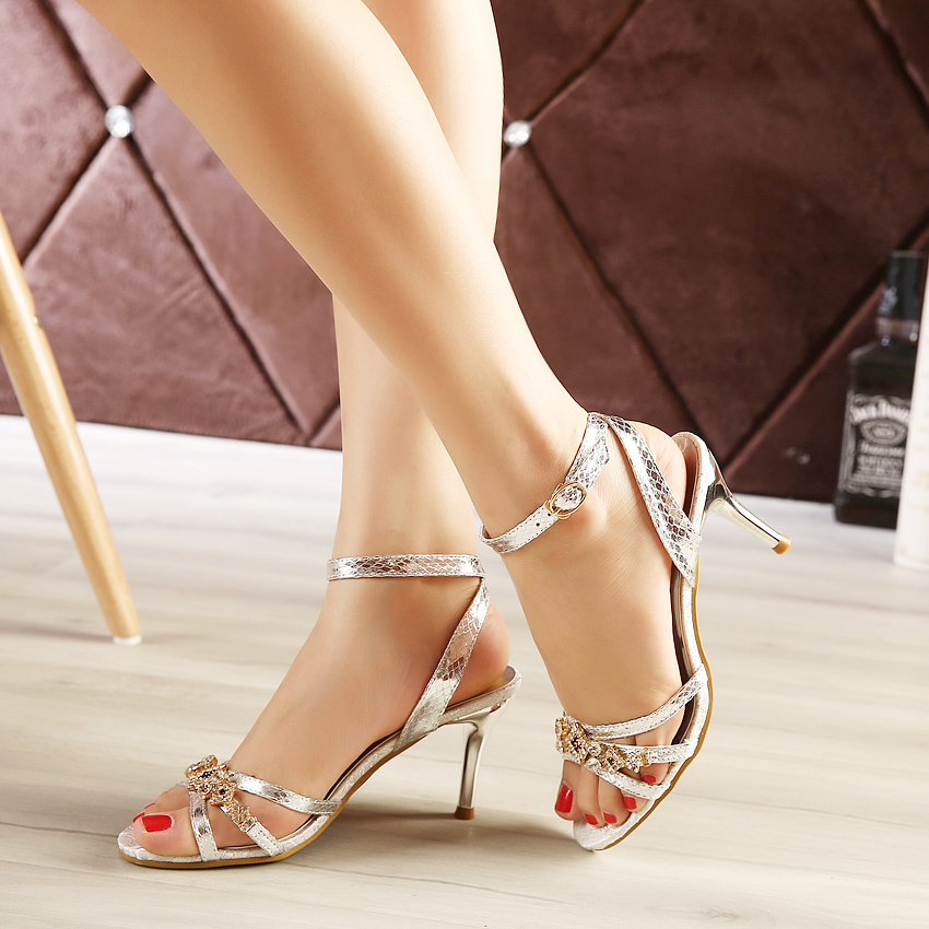 women shoes woman flip flops Stylish comfortable Nest comfortable fish head High-heels Sandals