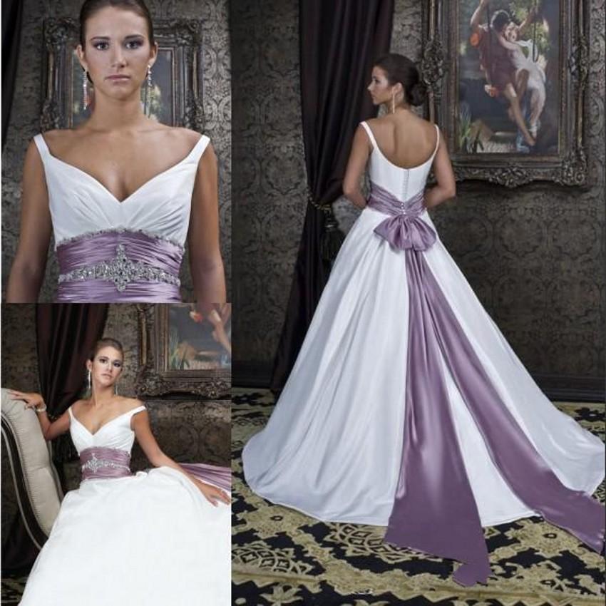Lila Schärpe Werbeaktion-Shop für Werbeaktion Hochzeit Kleid Lila ...