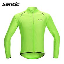 Santic Waterproof Cycling Jersey Long Sleeve Rain Jacket Ropa Ciclismo Windproof Bicycle Clothing MTB Bike Jacket Cycle Raincoat(China (Mainland))
