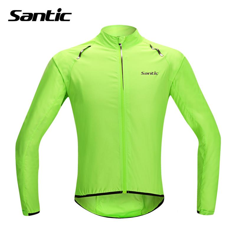 Santic Waterproof Cycling Jersey Rain Jacket Ropa Ciclismo/Windproof Windcoat Bicycle Clothing MTB Bike Jacket Cycle Raincoat(China (Mainland))