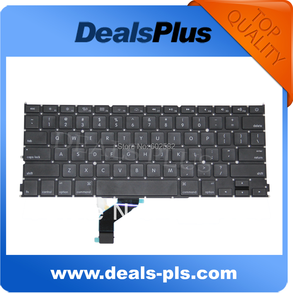 "Original LAPTOP KEYBOARD FITS Macbook Pro 13"" Retina A1425 MD212LL/A, MD213LL/A US Keyboard(China (Mainland))"