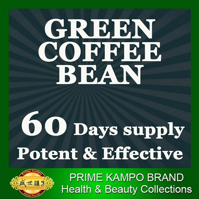 60 days supply PURE Nature Green coffee bean extracts slimming for men weight loss 1