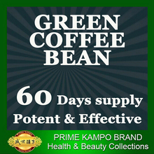 ( 60 days supply ) PURE Nature Green coffee bean extracts slimming for men weight loss 1 bag slim patch for free (mld020)