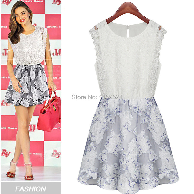 2014 Clothing Women Summer Dress New European And American ...