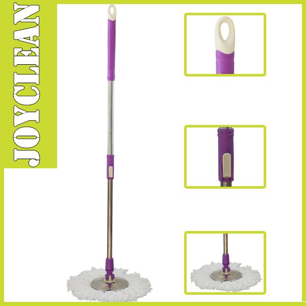 Free Shipping 360 Spin Mop Magic Mop Pole Set Hand Pressure Mop Rod(China (Mainland))
