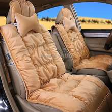 Classic car seat cushion cover set of high quality velvet material Universal seat covers for 5 seat auto seat supports 8PCS/Set