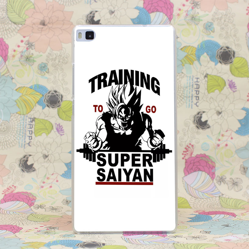 1044HJ Training To Go Super Saiyan Dragon Ball Z Hard Case Cover for Huawei P6 P7 P8 P9 Lite Plus Honor 6 7 4C 4X G7(China (Mainland))
