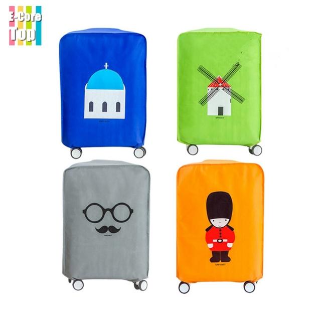 Go поездка чемодан защитный водонепроницаемый нетканые утолщаются чемодан размер ...