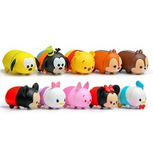 Buy 10Pcs/lot 3.8CM Tsum Tsum Donald Mickey Winnie Duck Toys Cute Elf Doll Bathing Toy Juguetes Chirldren Gift for $10.55 in AliExpress store