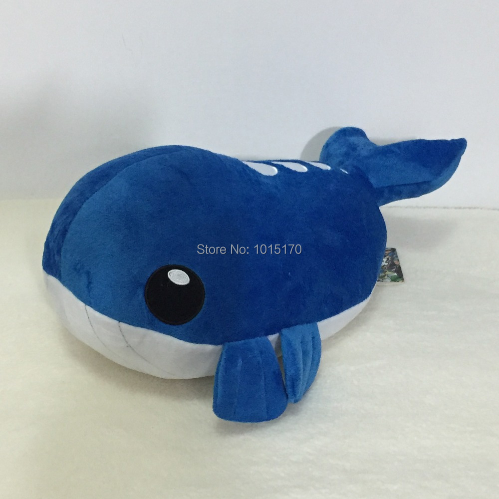 Pokemon Plush Toys 12inches Japanese Anime Character Girls and Kids Favorite Wailmer Whale Plush Doll Christmas&birthday Gifts(China (Mainland))