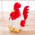 New child plush toy cute baby chicken cock handmade pillow 25cm 2017 zodiac chicken plush toy