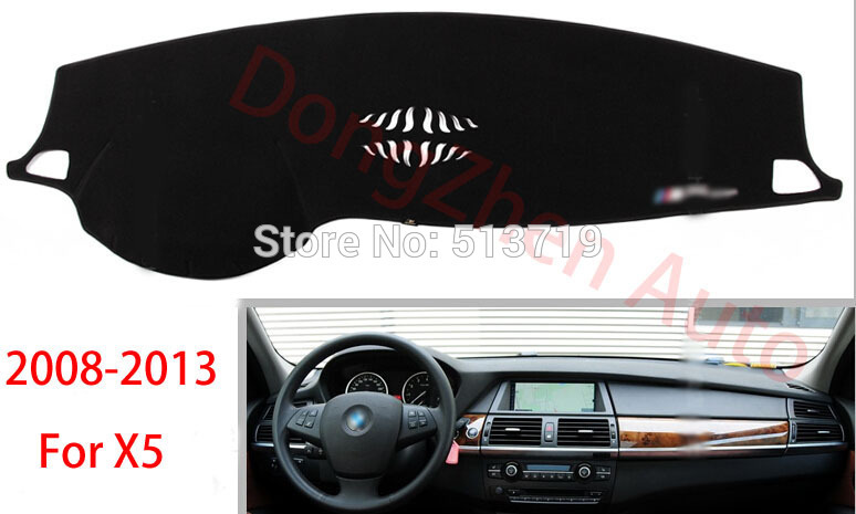 Car dashboard Avoid light pad Instrument platform desk cover Mats Carpets Auto accessories For BMW X5<br><br>Aliexpress