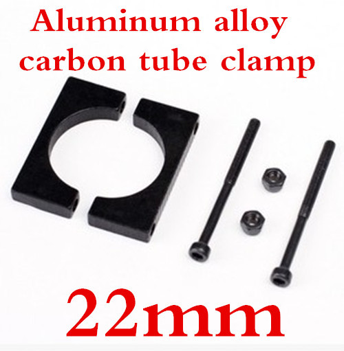 10 Pairs 22mm  Carbon fiber tube clamp /CNC aluminum tube clamp, multi-axis aircraft use<br><br>Aliexpress