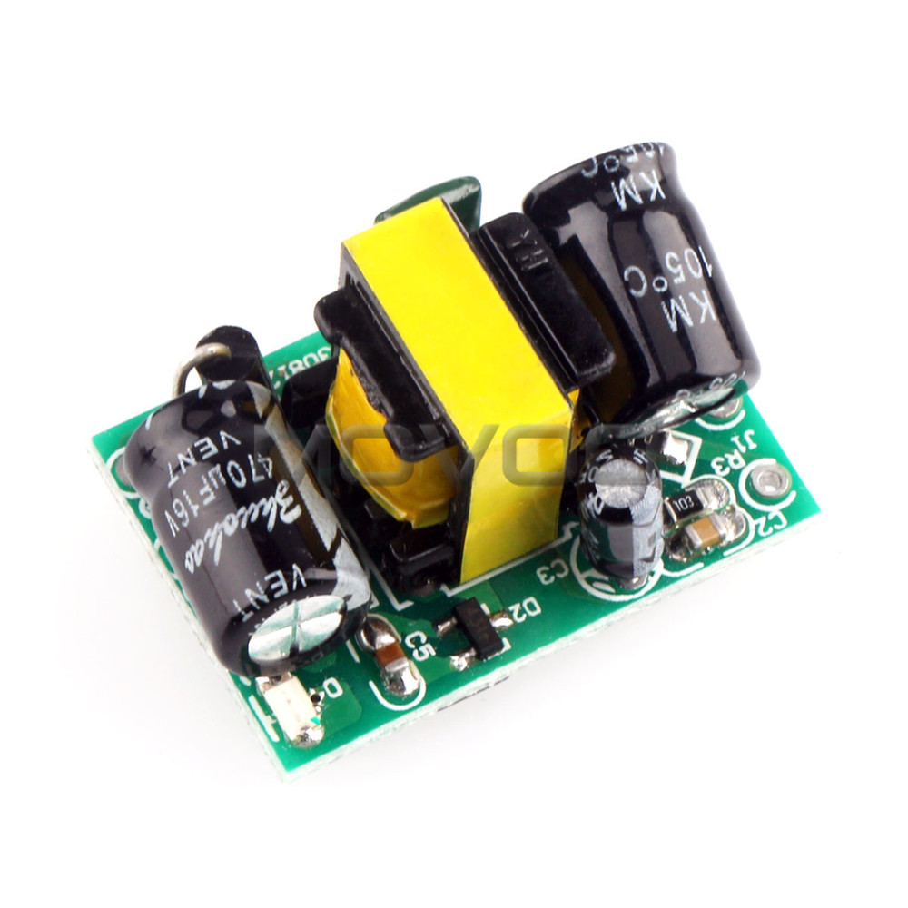 AC 90~240V 110V/220V DC12V/400mA 5V/100mA 5W Dual Output Switching Power Supply/Buck Converter/LED Driver/Power Adapter etc - MOVOO Store store