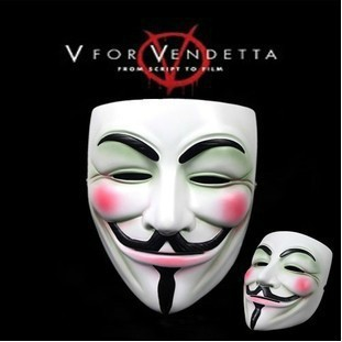 Strange Guy Fawkes Mask of V for Vendetta Party Cosplay Masquerade toy -  wholesale retail D42A