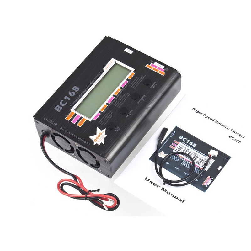 1pcs AOK BC168 1-6S 8A 200W Super Speed LCD Intellective Balance Charger/Discharger rc helicopter part<br><br>Aliexpress