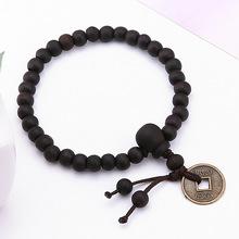 Buy Religion Buddhist Tibet Buddhists Bracelet Tibetan Decor Bangle Wrist Men Jewelry Wood Buddha Bead Prayer Beads Bracelet for $1.26 in AliExpress store