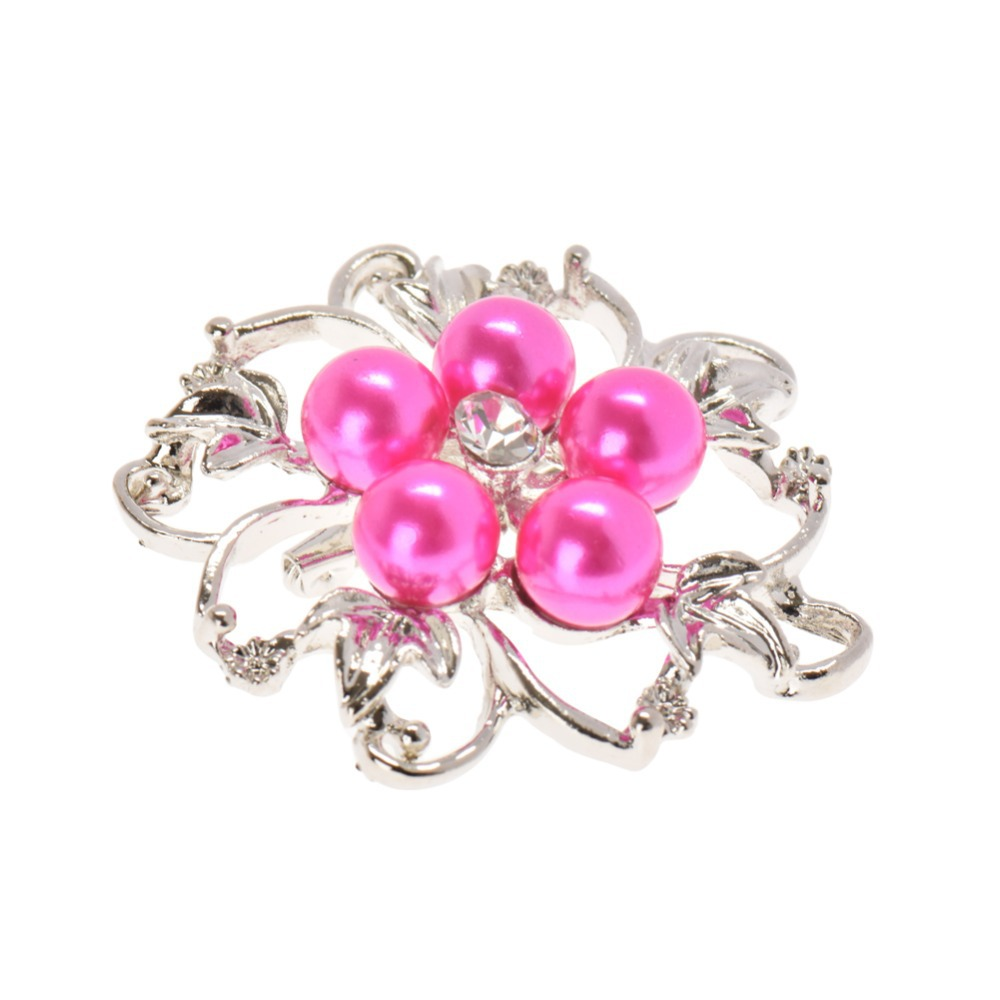 lackingoneFashion Jewelry Wholesale Wedding Brooches Crystal Brooches Flower Pearl Brooch Pins For Women(China (Mainland))