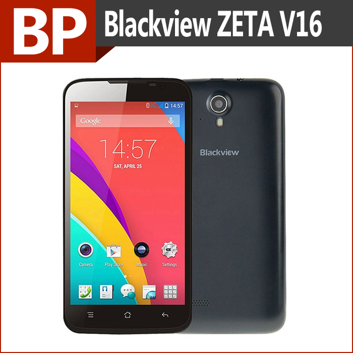 Original Blackview Zeta V16 MTK6592M 5Inch Octa Core Android 4.4 3G mobile Cell Phone 1GB 8GB 8MP camera GPS In stock(China (Mainland))