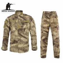 Buy Multicam Black Military Uniform Camouflage Suit Tatico Tactical Military Camouflage Airsoft Paintball Equipment Clothes for $44.01 in AliExpress store