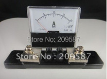 Buy Analog Amp Panel Meter Current Ammeter DC 0-20A + Shunt for $10.20 in AliExpress store