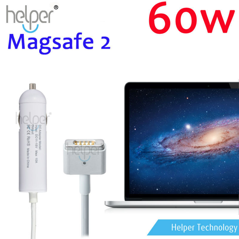 MINI !! NEW MAGSAFE 2 60W 16.5v 3.65A Car Charger Adapter for Apple MacBook Pro With Retina Display A1425(China (Mainland))