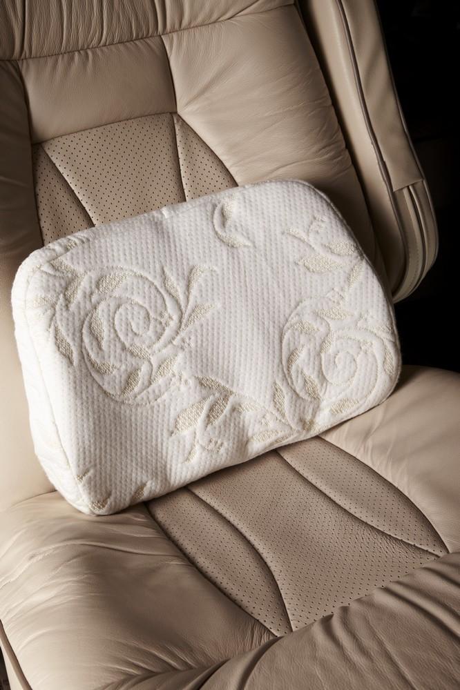Waist support pillow / back cushion / lumbar support pad / latex pillow / 39*28*10CM/ Dunlop technology/ Factory supplier(China (Mainland))