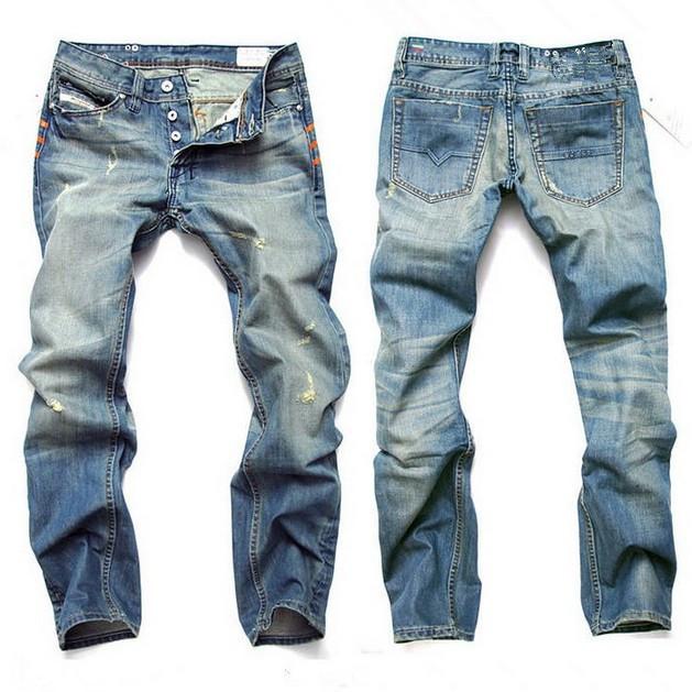 2015 New Mens JeansRetail u0026 Wholesale Famous Brand Men Jeans100% Cotton Denim Fashion Jeans ...