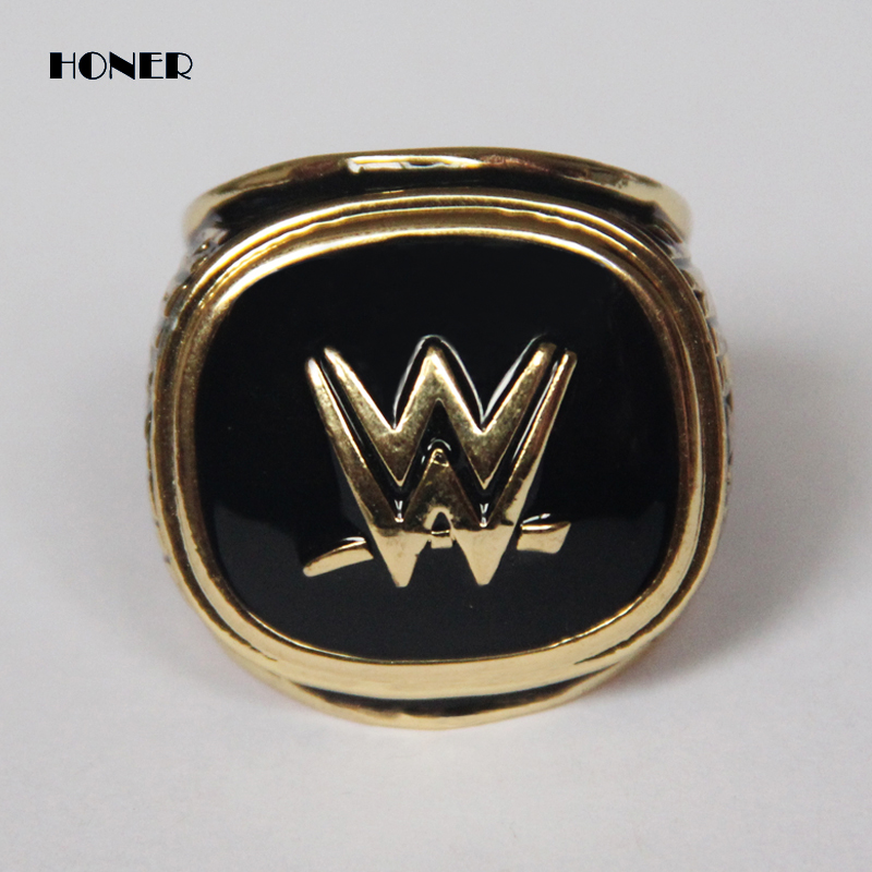 2015 wrestling entertainment Hall of fame championship ring,Free shipping gold men ring,Replica ring,Fashion jewelry(China (Mainland))