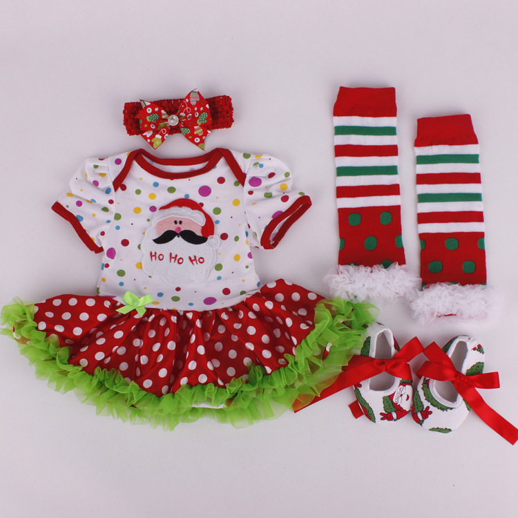 Set Christmas Baby Clothes Months