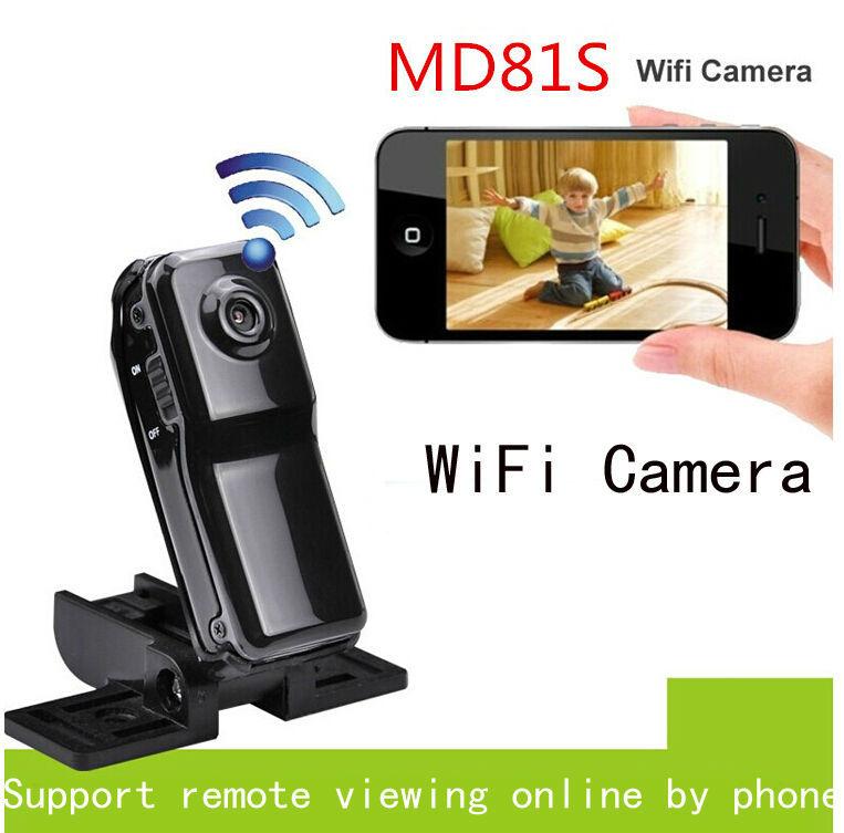 2016 MD81S WiFi Action Camera Mini DV Wireless IP Camera HD Micro mini Cam Voice Video Recorder Mini Camcorder Remote by Phone(China (Mainland))