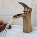 Antique Brass Kitchen Sink Bathroom basin Faucet mixer tap GZ 8125