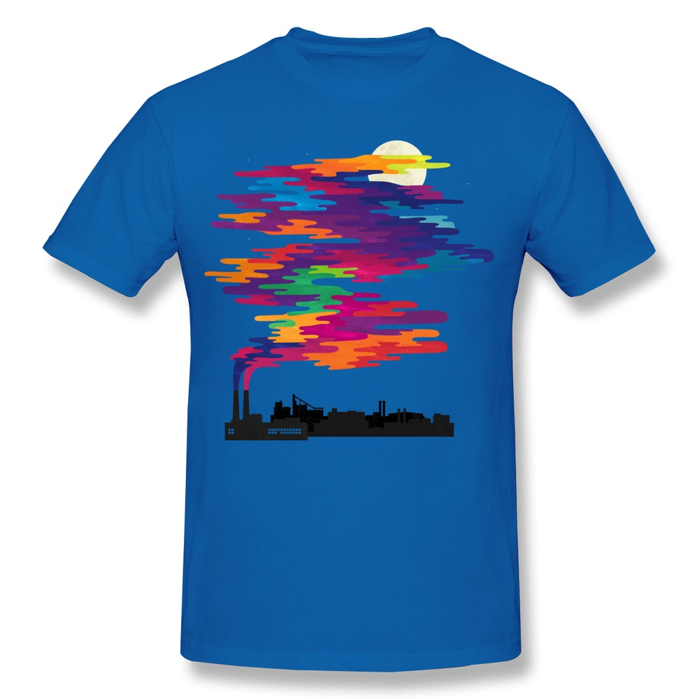 T shirt mens 100 cotton hidden in the smog custom t for Good quality cotton t shirts