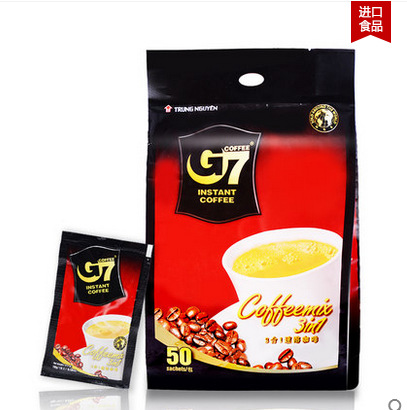 Coffee g7 three in 800g instant coffee powder