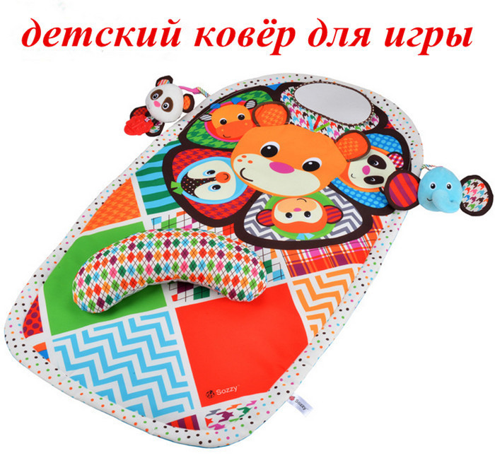 baby mat early education play carpet Baby Toys Soft Play Mats 90*55cm Educational mat baby playmat waterproof with deat(China (Mainland))