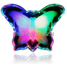 Insect Light Control Energy Saving EU Plug Lovely Led Color Butterfly Night Light  Decoration Bulb For Baby Bedroom Gift(China (Mainland))