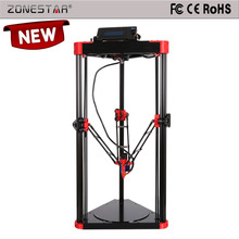 Large print size 180*300mm 2015 new Model Upgraded Delta 3d Printer kit D807M High Precision Reprap DIY kits free shipping
