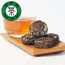 Free shipping Kidney Tea Folium Orthosiphoni Puer Tuo cha Ripe P059 Good for Kidney 100g 3